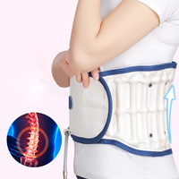 Air Wave Lumbar Traction Belt Back Waist Massage Support Brace Lower Lumbar Spinal Physio Decompression Traction Device