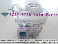 HX60W 3598762 3598763 3598764 3598765 4089298 Turbo For Cummins ISX T3 Industrial Engine QSX QSX15 2002 PHASE WASTE GATED CM570