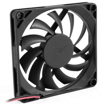 80mm 2 Pin Connector Cooling Fan for Computer Case CPU Cooler Radiator Computer Accessories CPU Cooling Fans P0.11 Fans & Cooling