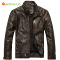 2016 New Arrival Brand Motorcycle Leather Jackets Men Jaqueta De Couro Masculina Mens Leather Jackets Zip Leather Jackets