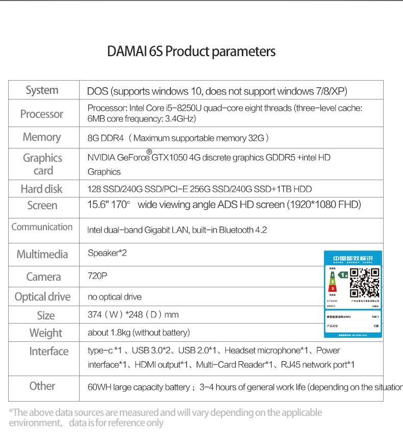 🛒 Ultra slim office laptop MAIBENBEN DAMAI 6S 15 6