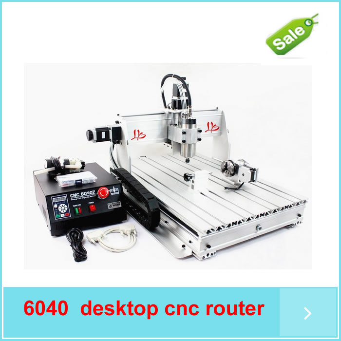 ship by DHL desktop cnc router 4 axis 6040Z-S65J 4axis 800W woodworking cnc drilling machine for wood Marble metal pcb Aluminum free dhl ft high speed 3 axis 800w affordable cnc router with parellel port precision drilling machine for woodworking 6090