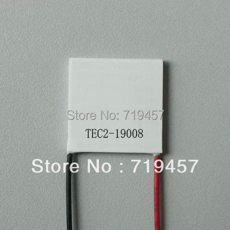 %100 NEW FREE SHIPPING 2PCS/LOT TEC2-19008 Large Temperature Difference Multilevel Refrigeration Piece  40*40*6.3mm