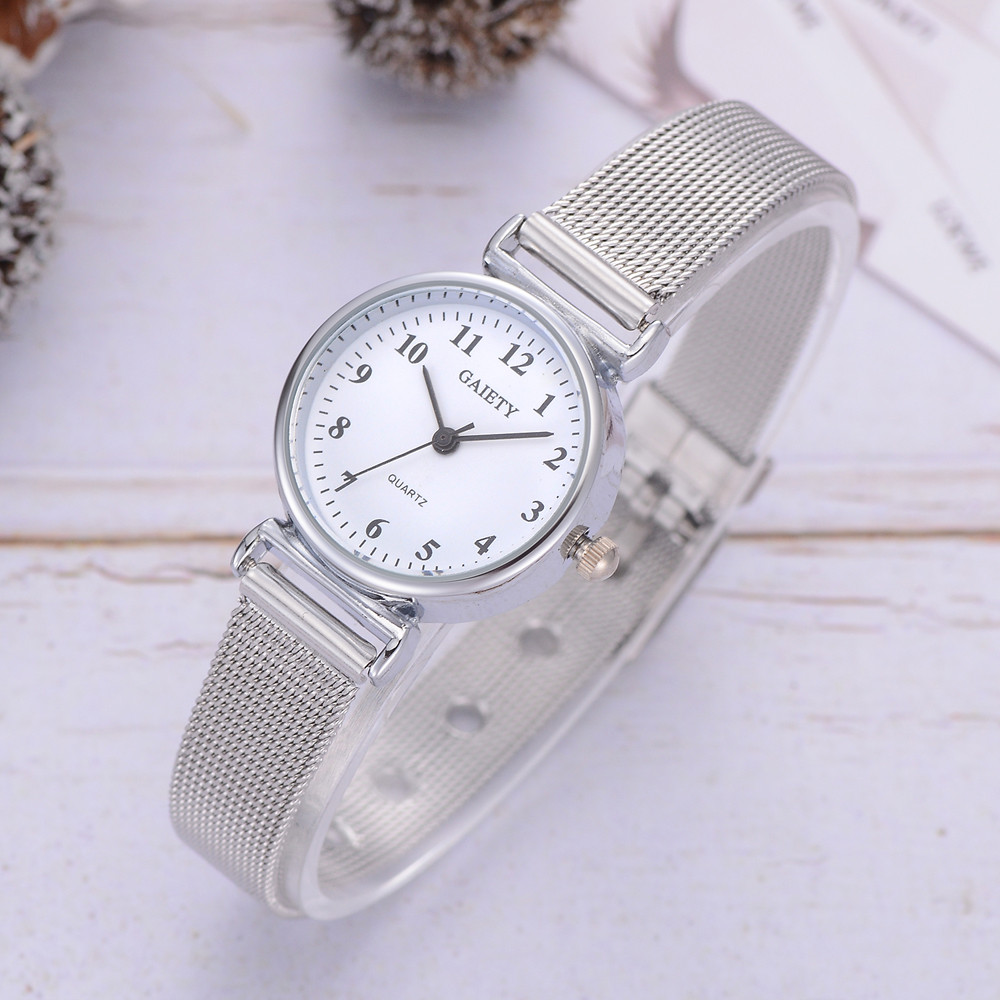 GAIETY Best Selling Women's Casual Quartz Mesh Belt Watch Analog Wrist Watch For Women 2019 Laides Relogio Feminino Dropshipp S