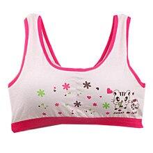 Lovely Bra Girls Camisole Underwear Bra Vest Children Underclothe Sport Undies kids girl tank tops 10-14Y 07