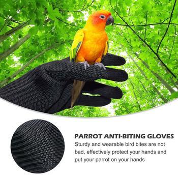 1 par de guantes anti mordeduras