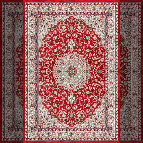 vintage Western rustic carpet floral print persian islamic prayer ...