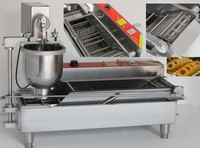 RERER ERER Automatic commercial donut frying machines; donut making machine