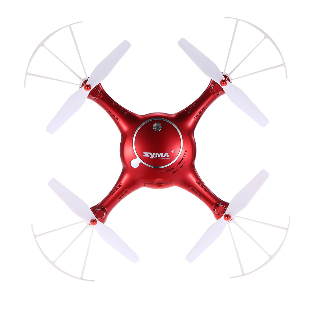 2017 Syma X5UW Drone with WiFi Camera HD 720P Real-time Transmission FPV Quadcopter 2.4G 4CH RC Helicopter Dron Quadrocopter-Red 2016 syma x5hw 2 4g 4ch fpv drone with camera hd wifi real time transmission aerial quadcopter 3d roll vs syma x8c fast shipping