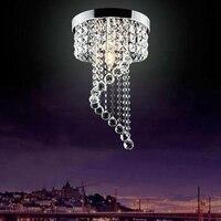 LukLoy Modern LED Crystal Chandeliers Light Living Room Aisle Lighting Fixtures Bedroom Kictchen Ceiling Luminaire