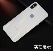 Hydrogel protective back film for iPhone 8 7 plus 9D ultra-thin mobile phone aurora XR XS max X