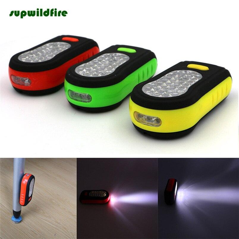 HOT!!! Portable 33 LED Working Flashlight Torch Lantern Camping Bicycle Lamp Free Shipping #NO20