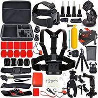 ETF GPK02 GoPro Accessories Budle Kit For SJ4000 SJ5000 Cameras And Gopro Hero 3 2 1