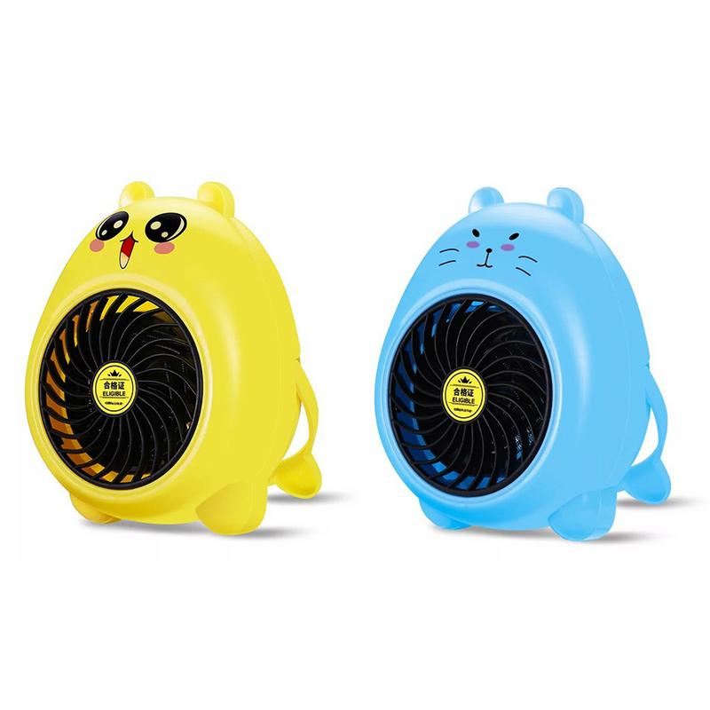 Cute Mini Fan Heater Desktop Household Electric Heater Fast Handy Heater Warm Machine for Winter Small Desktop Heater cute mini fan heater desktop household electric heater fast handy heater warm machine for winter small desktop heater