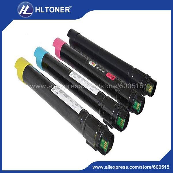 4pcs/set color toner cartridge compatible for Xerox DC2250 DC3540 DC5450 DC3360 DC6650