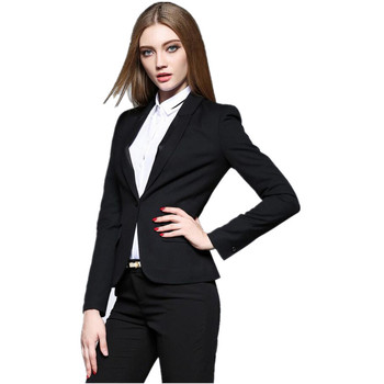 New Women Pant Suits Professional OL lady suit fashion style formal occasions suit high quality custom button lapel women suits