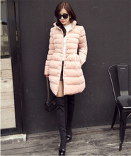 Wadded Coat Winter Women Velour Bow Cotton Padded Jacket Long Cloak Style Parka Female Winter Coats Women Winter Outwear TT253