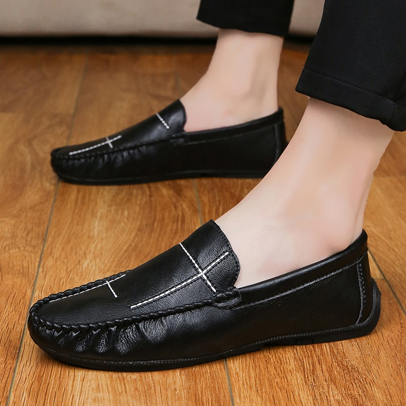 Moccasins Driving-Shoes Fashion Loafers Breathable Casual Summer Flat HC-099 Zapatillas
