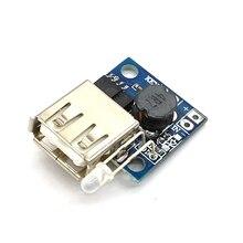 Mini DC DC 2.6 V 5.5 V 3.3V3.7V Per 5 V 2A USB del Caricatore di Uscita Non Isolato Boost Modulo con Indicatore di Batteria