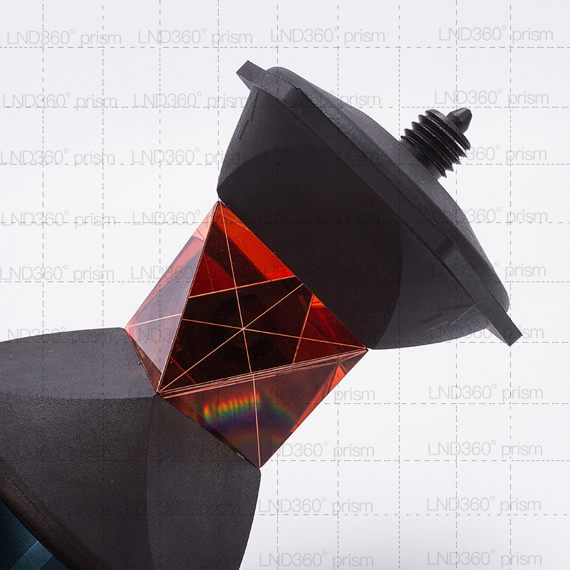 360 Degree Reflective Prism for Leica CPIII Total Station 5//8x11 thread on top