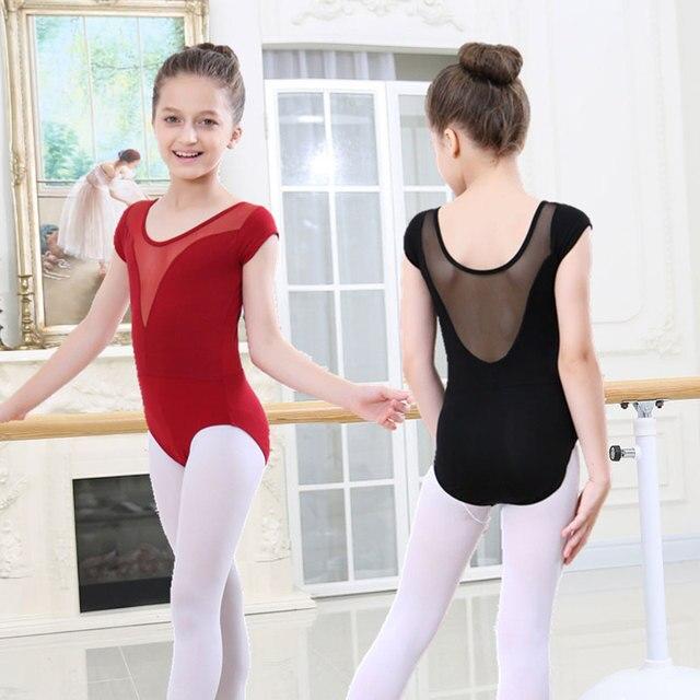 Купальник для девочек балетное платье для детей танцевальная одежда для девочек Детские балетные костюмы для девочек танцевальный Купальник для девочек сценическая танцевальная одежда
