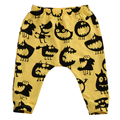 Venta caliente Otoño Primavera Niños Pequeños Infantil Kids pequeño monstruo pantalones Bebé Niños Niñas Harem Pantalones Largos Pantalones Leggings Bottoms 0-3Y