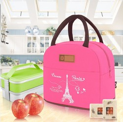 2017 portable cartoon tower pattern lunch bags primary school students child bag fashion lunch box bag.jpg 250x250