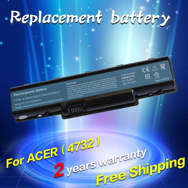 Batería para acer aspire 5516 5517 5532 5732z 4930 jigu emachines e725 e525 as09a31 as09a41 as09a56 as09a61 as09a70 as09a71