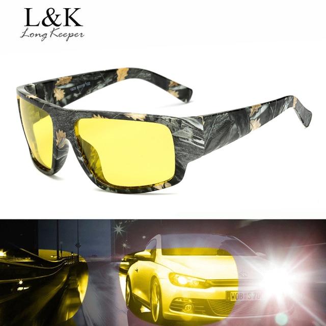 b19e51ef80968 Longo Goleiro Anti-reflexo Óculos de Sol Dos Homens Polarizados para a  Segurança Dirigir À