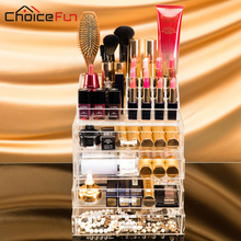 Extra Large Acrylic Makeup Organizer Drawer Storage Box