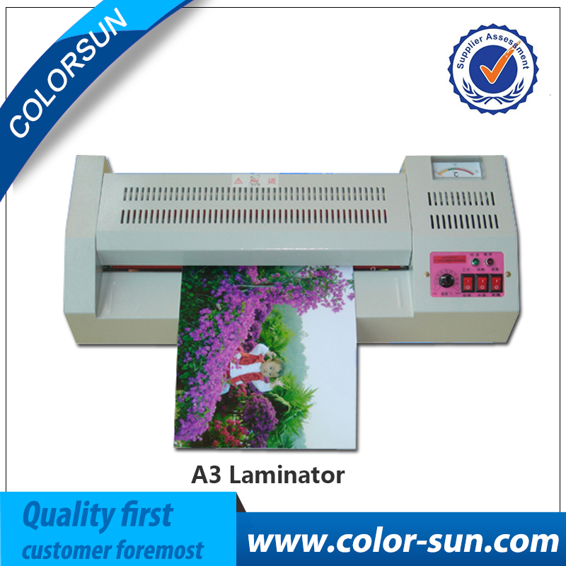 A3 size Hot & Cold Temperture Laminator print A3/A4 photo Laminating Machine for Office/Household a3 photo laminator office hot