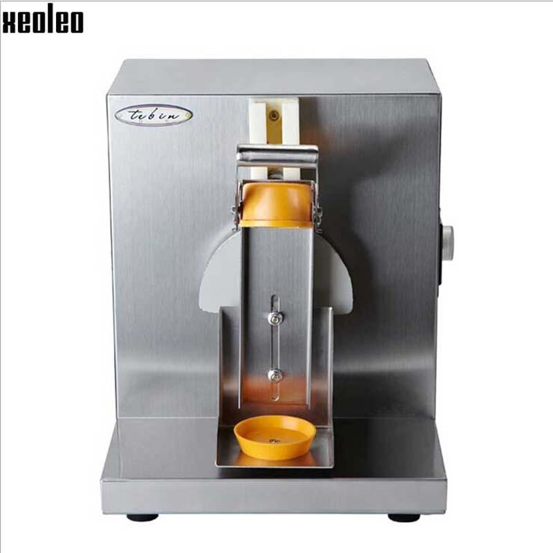 Xeoleo acier inoxydable lait secouant la Machine à thé à bulles simple tête bulle thé secouant la Machine