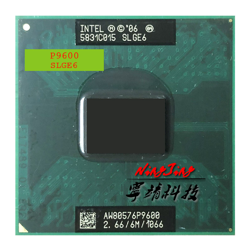 Bảng giá Intel Core 2 Duo Mobile P9600 SLGE6 2.6 GHz Dual-Core Dual-Thread CPU Processor 6M 25W Socket P Phong Vũ