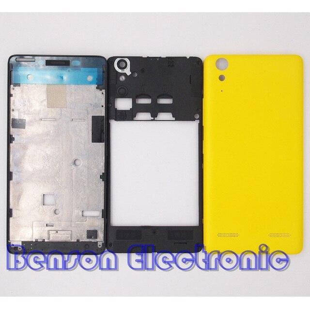 BaanSam New Front Frame Middle Frame Battery Back Cover For Lenovo ...