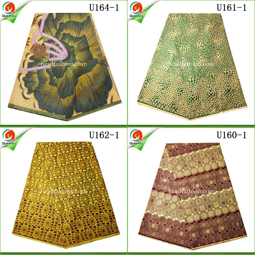 Free shipping African wax 6yards/lot fashion high quality genuine duth wax one pieces/pack Nigeria wax for women dress or cloth.