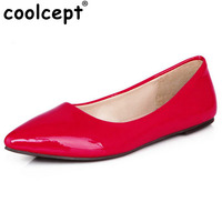 Free Shipping Casual Flat Shoes Fashion Lady Sexy Women Candy Colors Footwear P11816 Hot Sale EUR