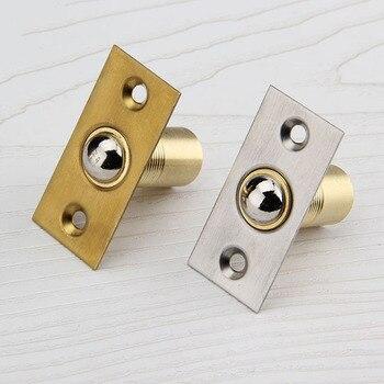 5PCS Cabinet Catches Copper Door Stops Hidden Door Touch Bead Spring Bead Gate/Room/KTV/Bar Doors Touch Beads K419