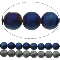 Length Approx 15 Inch Round Plated 8mm 10mm 12mm 14mm 16mm More Colors Hole Approx 1