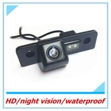 Бесплатная доставка заднего вида Камера для Skoda Octavia автомобиля водонепроницаемый парктроник CCD HD автоматического резервного копирования обратном Камера Реверсивный