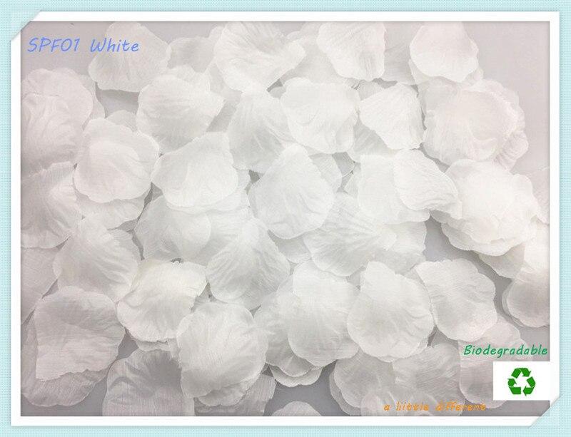 1lot 100pcs Size2 x2 5x5cm font b White b font Silk Rose font b Flower b