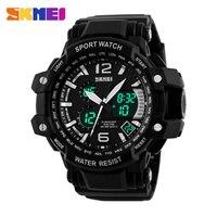 2017 Men's Quartz Digital Watch Men Sports Watches Relogio Masculino SKMEI S Shock Relojes LED Military Waterproof Wristwatches