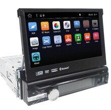Универсальный 1 din Android 8,01 4 ядра dvd-плеер gps Wifi BT Радио BT 2 Гб Оперативная память ROM16GB 4G SIM сети Рулевое колесо RDS