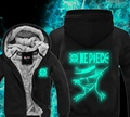 Green Luminous Sweatshirt Men Fluorescence Winter Hoodies  Casual  Male Jackets Hoody Cloak Shawl Men One Piece