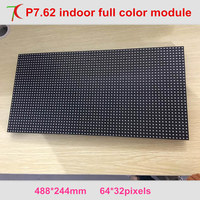 P7.62 indoor 488*244mm full color led board for led display