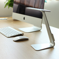 Ultrathin Mac Style USB LED 3 Mode Dimming Touch Switch Reading Table Lamp Built In Battery
