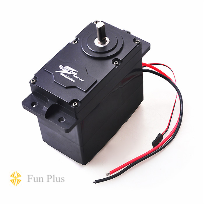 JMT High Torque Metal Servo Steering Gear for 12v-24v Large Robot Arm DIY Models