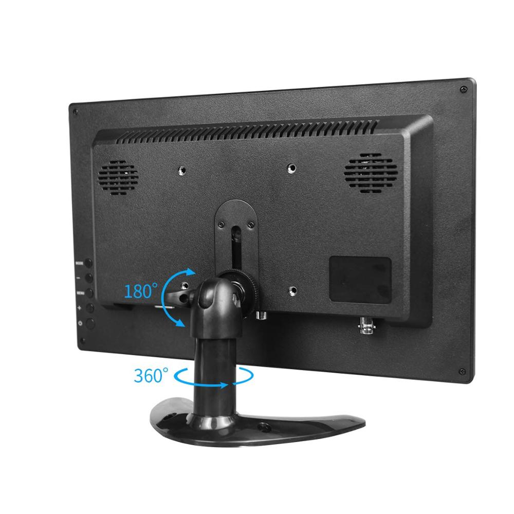 Image 3 - 10.1 Inch IPS HDMI Capacitive Touch Screen 1280x800 LED Monitor for PS3 4 Windows 7 8 10 VGA/AV USB Computer LED PC Car Display-in LCD Monitors from Computer & Office