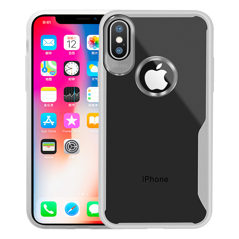 KIPX1089W_10_JONSNOW Transparent Phone Case for iPhone 7 8 Plus 6S 6 Plus Soft Glue All-inclusive Protect Cover for iPhone X XR XS Max