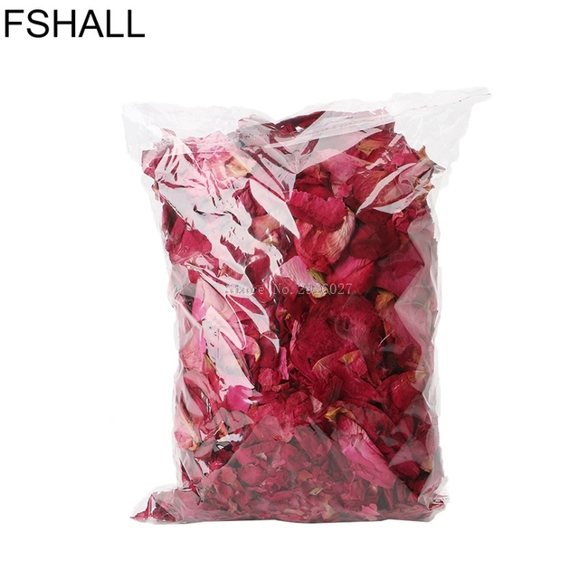 50g Bag Dry Rose Petal Natural Flower Spa Bath Relieve Fragrant Body Massager B118
