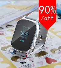 new GPS Tracker Smart Watch Kids Child Bracelet Personal Locator GSM GPRS Tracking LBS Position Phonebook Web APP Realtime Track